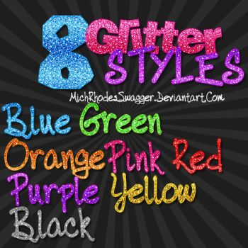 Glitter Styles by MichRhodesSwagger