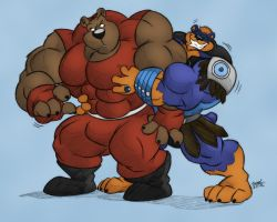 - Super Bear Huggin' Time - by notveryathletic
