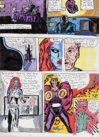 Sample X Men Page - Magneto and Mystique by Dukester2000
