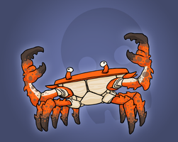 GIANT ENEMY CRAB by Pokii-kun