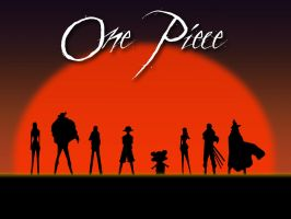 One Piece Sunset Wallpaper by Pachyderm11