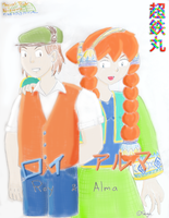 Roy and Alma by Chotetsumaru