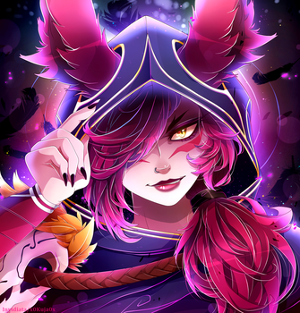Xayah - Rebellious by Invidiata