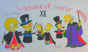 Treehouse of Horror XII by komi114