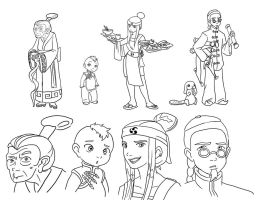 Misc. ATLA designs by Yamino