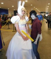 Midlands '13 - Fionna and Marshall Lee by AngelBless