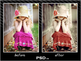 coloring PSD by Lovely-tatsuha