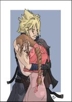 AC Cloud and Aeris by conscience111