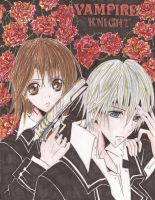 Vampire knight- Yuki and Zero by ukalayli
