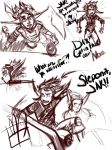 A little bit of Scene Revision. by LadyFitz