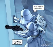 snowtrooper by joewight