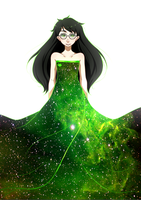 Witch of Space by uixela