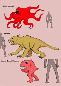 Cryptids A - C by Cybopath
