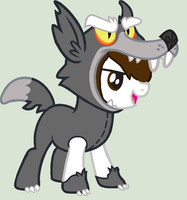 MLP Young Danny! [Wolfie Costume] by RubytheCat12