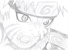 Naruto's pissed by soniclover330