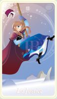 {The Princess Tarot} 'La Justice: Anna' by suisei-ojii-sama