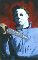 Michael Myers by Josh Simon by JSimonART