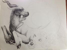 Capricorn - WIP by RiverSpirit456