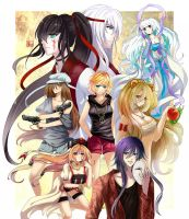 My daughters - finished by Hika-Vns