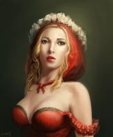 Gift:Rosalind the Red Riding Hood from Mr.Leon19 by Rosalind-WT