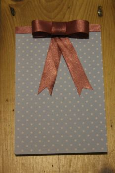 Bow note book by Marcie-J