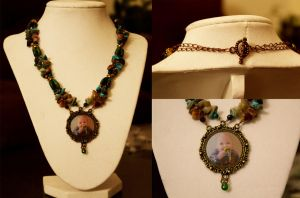 Double-Strand Grandson Necklace by EPBJewelry