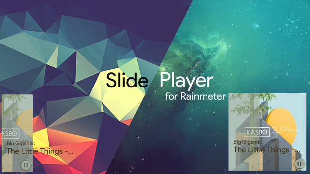 'Slide Player' - A minimalistic music player by craftAA
