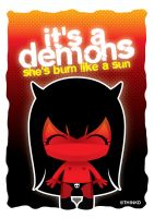 It's a little demons by thinkd