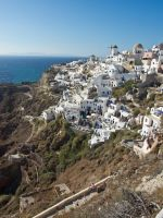 Oia Santorini Greece by davepphotographer