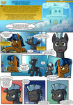 Lightning Rider Mini-Comic: The Test Flight (pg.1) by BuizelCream