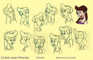 Psyche expression sheet