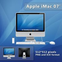 Apple iMac 07' by kampongboy92