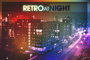 Retro at Night by elcrazy