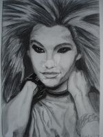 Bill Kaulitz from Tokio Hotel by GokkiVanGogh