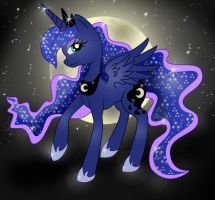 .:Princess Luna:. by Cheezyem