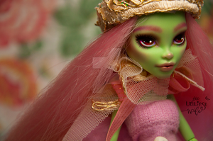 Rosa (Monster High Venus McFlytrap repaint) by theugliestwife