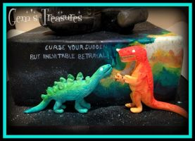 Firefly Cake Hoban's Dinosaurs by gertygetsgangster