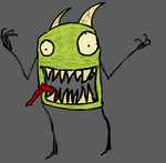 Phil the Flesh Eating Monster by Nzxer