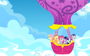 Balloon Ride Wallpaper 2560x1600 by GoblinEngineer