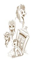 Doctor Whoof Comic Concepts 1 by CyberToaster