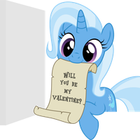 Valentine's day card from Trixie by RuinedOmega