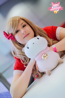 Bee and Puppycat with Global Cosplay 3 by Samii-Doll