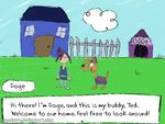 Doge and Ted's House by Speedvore
