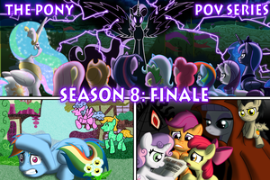 Com: The Pony POV Series - Season 8 Title Card by Atomic-Chinchilla