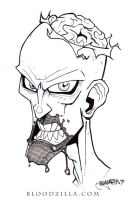 Zombie Inktober by Bloodzilla-Billy