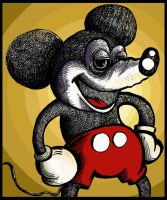 Mickey Mouse... on drugs? by TOmAtOHEaD
