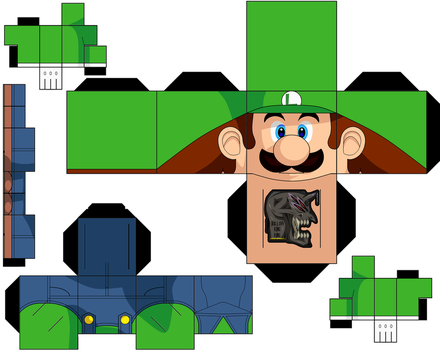 Luigi Redo by hollowkingking