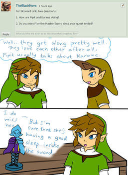 Ask Skyward Link and Wind Link 240 - 241 by LinkofSkyWind