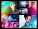 Doctor Who Collage by 80sGirl1996