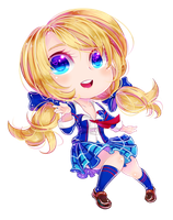 Commission : Chibi Megan by ibahibut